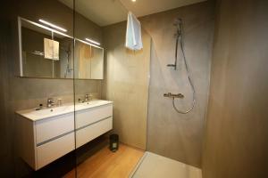 A bathroom at La Fête au Palais
