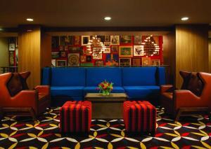 منطقة البار أو اللاونج في Hotel Lincoln, part of JdV by Hyatt