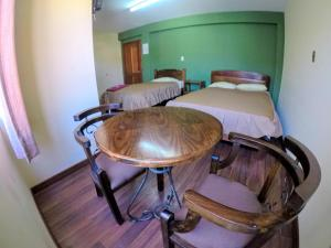 Residencial Uruguayにあるベッド