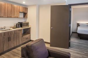 A kitchen or kitchenette at Wyndham Garden Ft Lauderdale Airport & Cruise Port