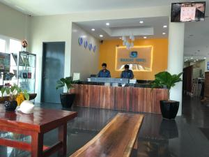 The lobby or reception area at Nadias Hotel Cenang Langkawi