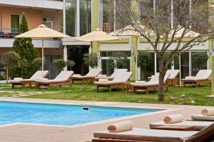 The swimming pool at or close to Civitel Attik