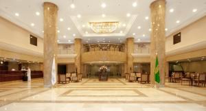 منطقة الاستقبال أو اللوبي في فندق مكارم منى