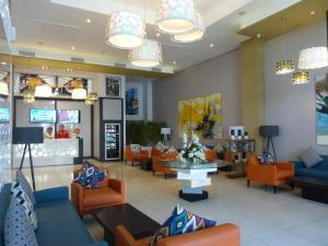 منطقة الاستقبال أو اللوبي في Relax Hotel Casa Voyageurs