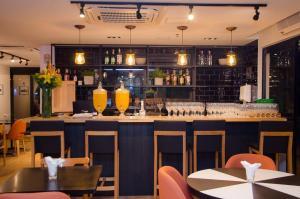 Um restaurante ou outro lugar para comer em Transamerica Executive Bela Cintra (Paulista)