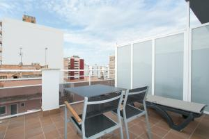 A balcony or terrace at Hotel Don Pepe - Adults Only