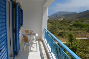 A balcony or terrace at Athena Kythera