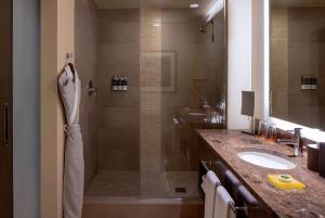 A bathroom at Hyatt at Olive 8