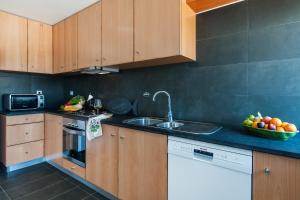 A kitchen or kitchenette at Monte Beato