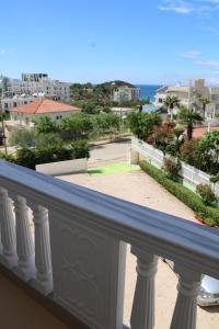 En balkong eller terrass på Villa Ideal