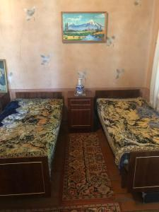A bed or beds in a room at Village House in Armenia