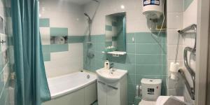 Ванная комната в Апартаменты на Ускова