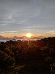 The sunrise or sunset as seen from the guesthouse or nearby
