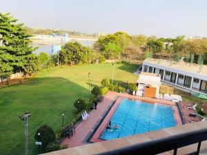A view of the pool at VITS Kamats Resort, Silvassa or nearby