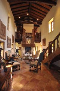 The fitness center and/or fitness facilities at Château de Bagnols