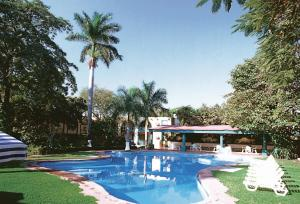 The swimming pool at or near Mision Ciudad Valles