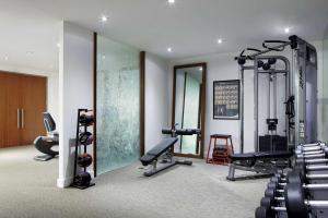 The fitness center and/or fitness facilities at Andaz Wall Street-a concept by Hyatt
