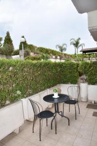 A balcony or terrace at Hotel Nelton