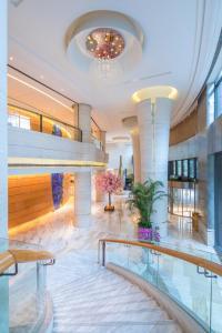 المسبح في فندق نيكو شنغهاي أو بالجوار