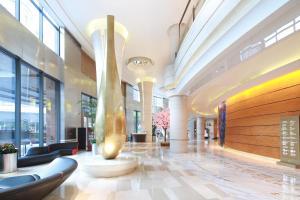 منطقة الاستقبال أو اللوبي في فندق نيكو شنغهاي