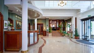 Vstupní hala nebo recepce v ubytování Orea Spa Hotel San Remo