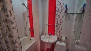 Ванная комната в Апартаменты Квартал на Гагарина 2