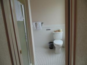 A bathroom at Manresa Castle