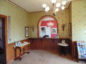 The lobby or reception area at Manresa Castle