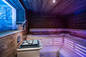 Spa and/or other wellness facilities at Les Dolomites Mountain Lodges