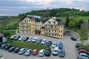 Blick auf Hotel Wender aus der Vogelperspektive