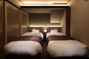 つむぎ 京都 八条口にあるベッド