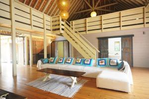 Uma área de estar em #7 Beach Villa Bliss by TAHITI VILLAS