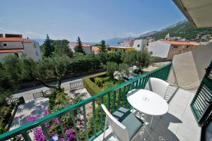 A balcony or terrace at Villa Mandalena