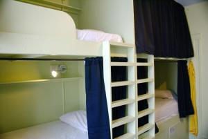 A bunk bed or bunk beds in a room at Adelaide Hostel