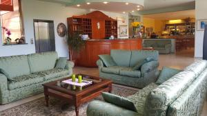 The lobby or reception area at Hotel Citti