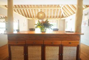 O saguão ou recepção de #7 Beach Villa Bliss by TAHITI VILLAS
