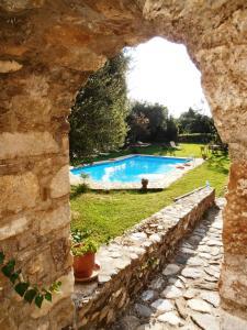 Πισίνα στο ή κοντά στο Byzantion Hotel