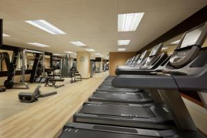 The fitness center and/or fitness facilities at Hilton San Francisco Union Square