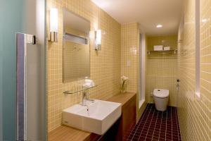 A bathroom at the b kobe