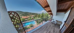 Balcone o terrazza di B&B La Mortella