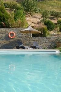 The swimming pool at or close to Hotel Rural Quinta Do Pego