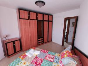 A bed or beds in a room at Casa Juan