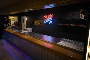 The lounge or bar area at Route 154
