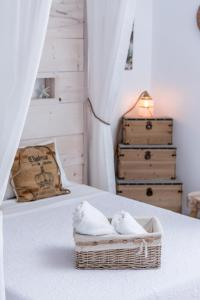 A bed or beds in a room at Villa Iceberg