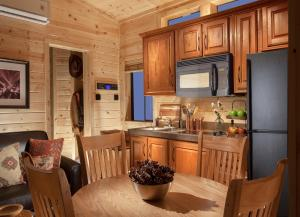 A kitchen or kitchenette at Capitol Reef Resort