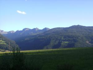Nespecifikovaný výhled na hory nebo výhled na hory při pohledu z apartmánu