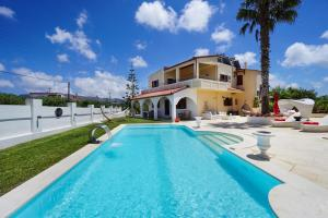 The swimming pool at or near Casa Bella Chania