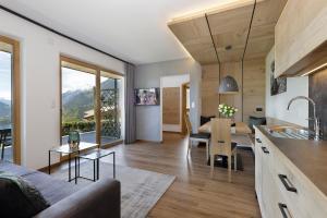 Küche/Küchenzeile in der Unterkunft Gattererhof