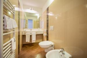 Koupelna v ubytování Park Hotel Pineta