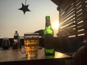 Drinks at DucknChill-Agonda